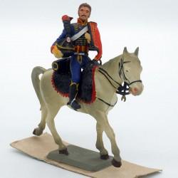 Officier Hussard à Cheval -...
