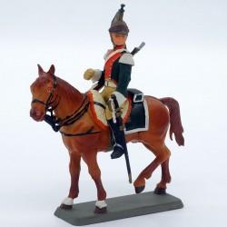 Cavalier Dragon 25ème Régiment 1812 - Starlux - En plastique