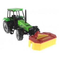 Siku - Tracteur avec Tondeuse 1/32 - réf 3252
