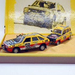 Coffret Paris-Dakar - Renault 4 - Renault 20