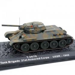 Tank T34/76 Russe - URSS...