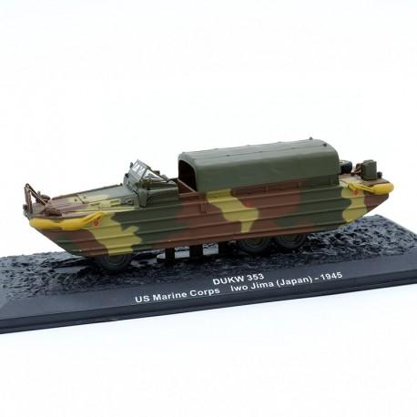 Véhicule Amphibie Dukw 353 - US Marine Corps 1945 - 1/72ème en boite