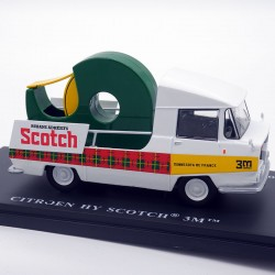 Citroën HY scotch - 1/43ème...