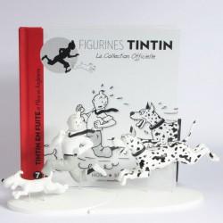 Figurine Tintin en résine Hors Série - Tintin en Fuite n°7 - avec livret et certificat
