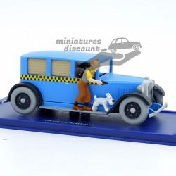 Le Taxi, de Tintin en...