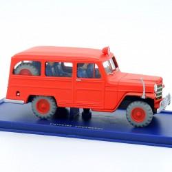 La JEEP des pompiers de...