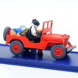 La jeep rouge, de Tintin au...