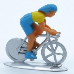 Cycliste Norev Jaune & Bleu...