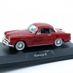 Simca 9 - 1/43ème en boite