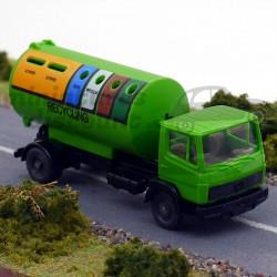 Camion de poubelles...