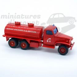 GMC Citerne SDIS - Pompiers...