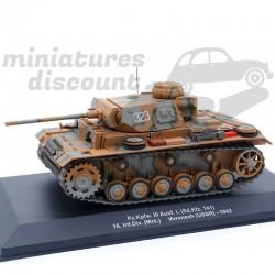 Tank Pz Kpfw III Ausf 16...