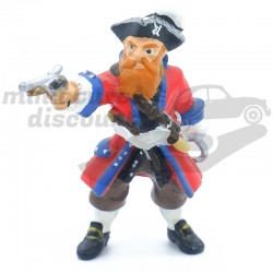 Figurine Capitaine Pirate -...