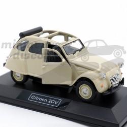Citroën 2CV - 1/32ème Beige...