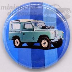 Land Rover (Fond bleu) -...