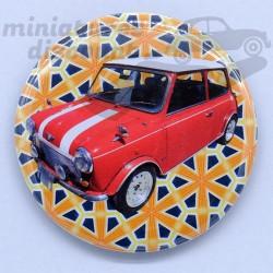 Mini Cooper Rouge (Fond...