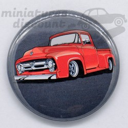 Pick-Up USA Rouge - Magnet...