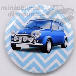 Mini Cooper (Bleu) - Magnet...