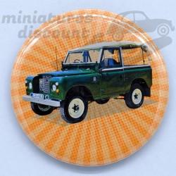 Land Rover vert - Magnet...