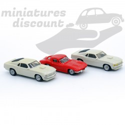 Lot de 3 Miniatures (1970)...