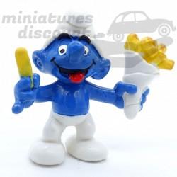 Figurine Schtroumpf Cornet...