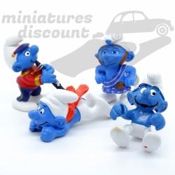 Promo ! Lot de 4 Figurines...