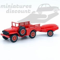 Dodge WC51 et Motopompe -...