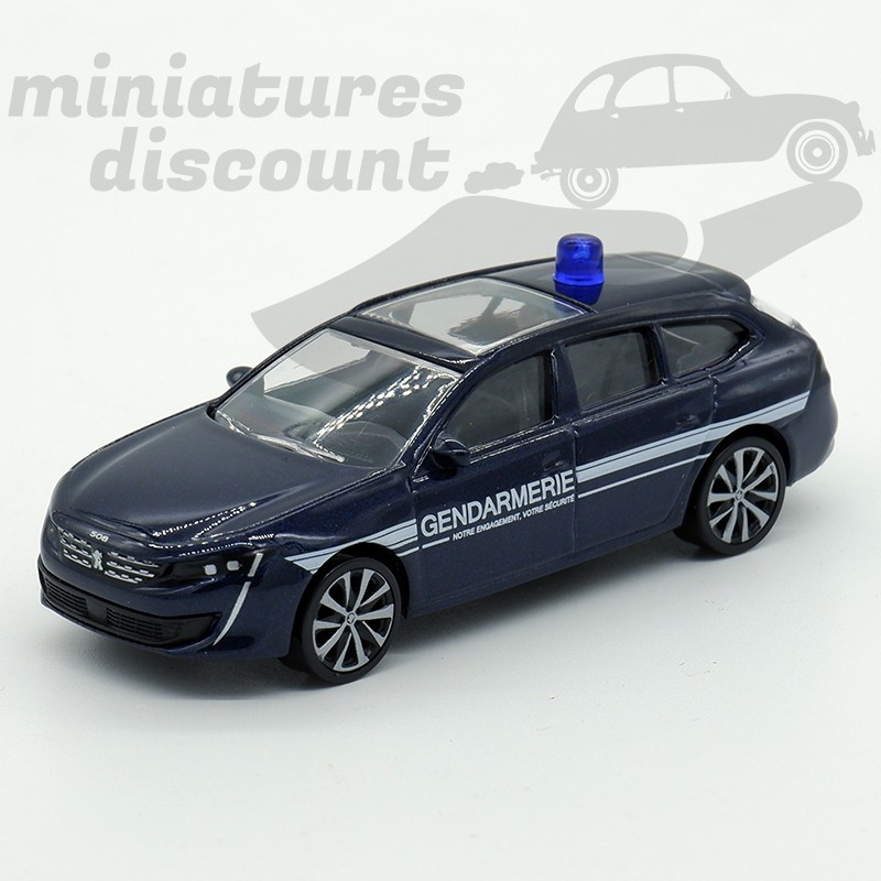 Neuf en boite. Peugeot 508 sw bleu nuit Norev 3 inches
