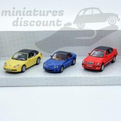 Coffret 3 miniatures -...