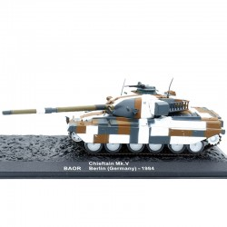 Tank Chieftain Mk.V - Allemagne 1984 - 1/72ème en boite