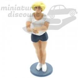 Figurine Spectatrice du...