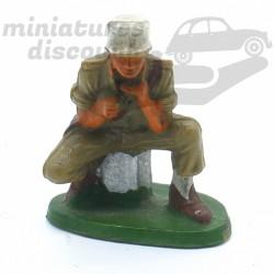 Figurine Soldat Assis-...