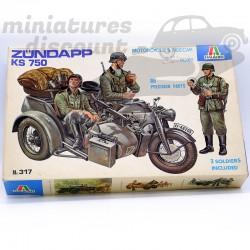 Sidecar Zündapp KS 750 -...