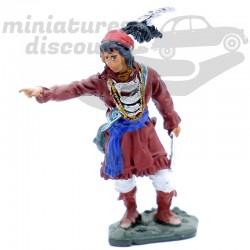 Figurine Osceola - En plomb