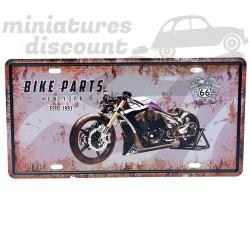 Plaque Déco en métal, Moto...