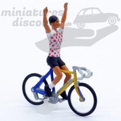 Cycliste Maillot à pois...