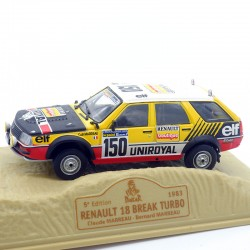 Renault 18 Break Turbo - Paris/Dakar 1983 - 1/43ème En boite
