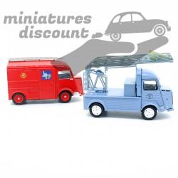 Lot 2 miniatures Citroën HY...