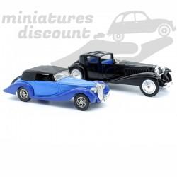 Lot 2 miniatures Delahaye...