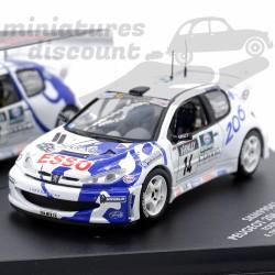 Peugeot 206 WRC Esso Tour...