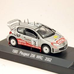 Peugeot 206 WRC 2002 - Solido - 1/43 ème En boite