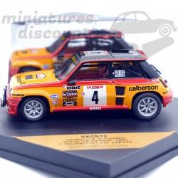 Renault 5 turbo - Tour de...