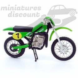 Moto Cross Verte - 1/18ème...