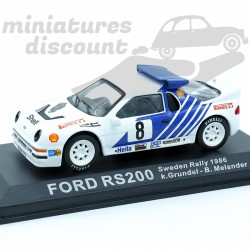 Ford RS200 Rally de Suede...
