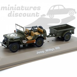 Jeep Willys MB - 1/43ème en...