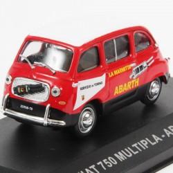 Fiat 750 Multipla - Abarth - 1960 - 1/43 en boite