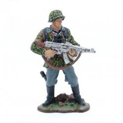 Waffen SS Schutze - sous blister en plomb