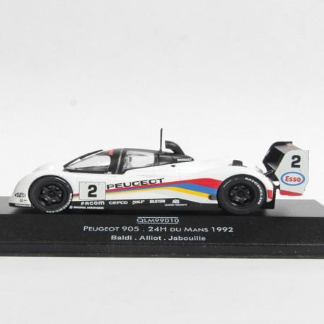 Peugeot 905 - Le Mans 1992 - Quartzo - au 1/43 en boite