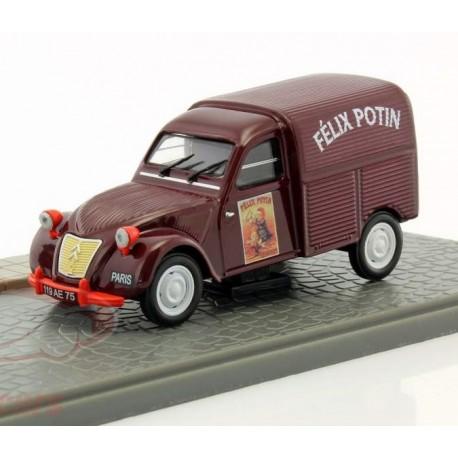Citroen 2cv Camionnette Felix Potin + Figurine 1/43 - en boite