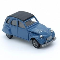 Citroen 2cv (bleu) - 1/43ème en boite